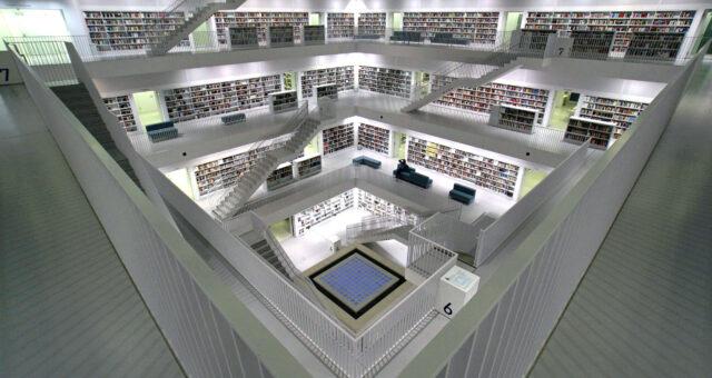 Baden-Wuerttemberg / Stuttgart Library