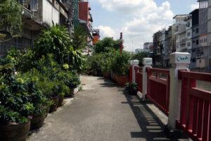 Bangkok Spaziergang am Klong entlang
