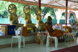 Bangkok Chonburi Hoellentempel Wat Saen Suk
