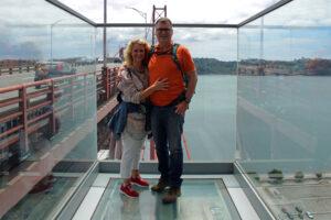Lissabon Experience Pilar 7 an der Ponte 25 de Abril Aussichtsplattform aus Glas Ralph Dresel oceanfunscape.com