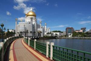 Brunei Sultan Omar Ali Saifuddin Moschee
