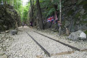 Thailand Kanchanaburi Hellfire Pass Cutting