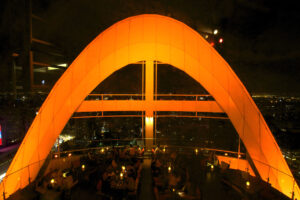 Red Sky Rooftop Bar im Central World in Bangkok Skybar