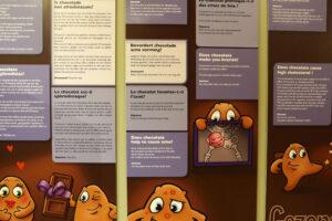 Belgien Brügge Schokoladen Museum
