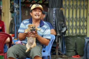 Ho Chi Minh Stadt - Distrikt 5 - Leben in den Straßen