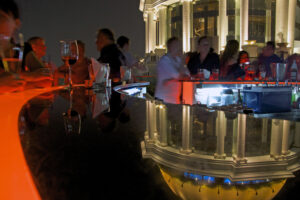 Sirocco Rooftop Bar im Lebua State Tower in Bangkok Skybar