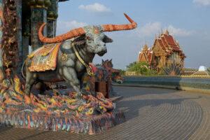 Thailand Isaan Dan Khun Thot Elefantentempel