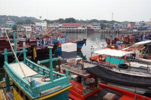 Bangkok, Koh Si Chang, Hafen