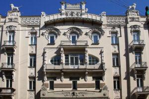Riga Jugendstil Villa Villen Michail Eisenstein Architekt Alberti Straße Elizabeta Strasse