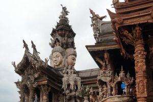 Sanctuary of Truth Nähe Pattaya Koh Sichang