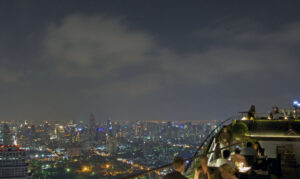 Vertigo Rooftop Bar im Banyan Tree Hotel in Bangkok Skybar