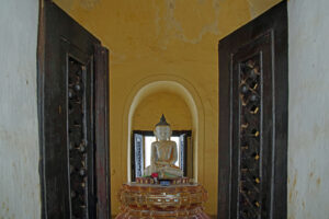 Maha-Aung-Mye-Bonzan-Monastery in Mandalay in Myanmar