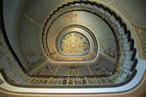 Riga Jugendstil Museum Treppenhaus schön toll einmalig schweben