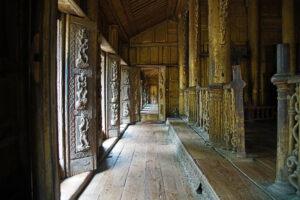 Mandalay in Myanmar Shwenandaw Kyaung