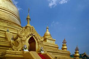 Mandalay in Myanmar - Kutho-daw-Pagode