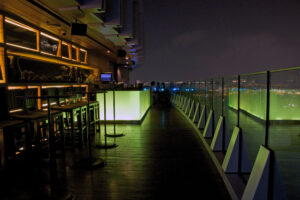 Octave Rooftop Bar im Marriott Hotel in Bangkok Skybar