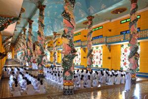 Ho Chi Minh Stadt - Cao Dai Tempel