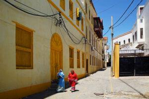 Kenia Mombasa Altstadt old town