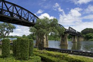 Thailand Kanchanaburi Bruecke am River Kwai Todesstrecke