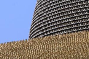 Wat Phra Dhammakaya Bangkok goldenes Dach Tempel Buddha