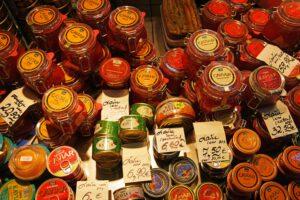 Riga Zentralmarkt Lebensmittel Kaviar