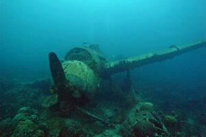 Palau Jake Seaplane Flugzeug Wrack