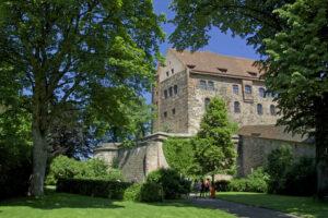 Nürnberg Kaiserburg Burggarten