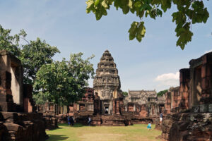 Thailand Isaan Khmer Tempel temple in Phimai