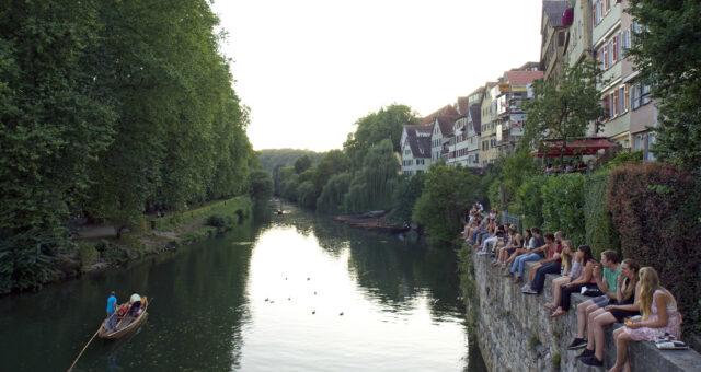 Baden-Württemberg / Städte am Neckar