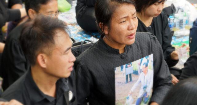 Bangkok / Trauer um König Bhumibol